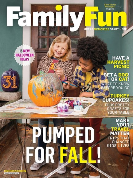 Family Fun Cover - 11/1/2017