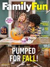 Family Fun Magazine | 11/1/2017 Cover