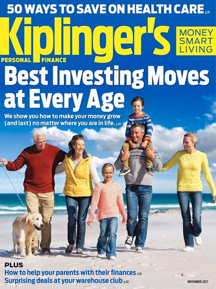 Kiplinger's Personal Finance Cover - 11/1/2017