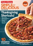 Simple & Delicious Magazine 10/1/2017
