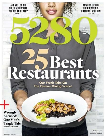 5280 Magazine Cover - 10/1/2017