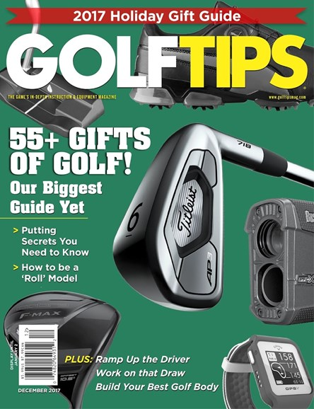Golf Tips Cover - 12/1/2017