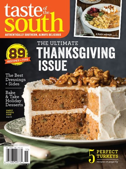 Taste of the South Cover - 11/1/2017