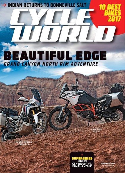 Cycle World Cover - 11/1/2017