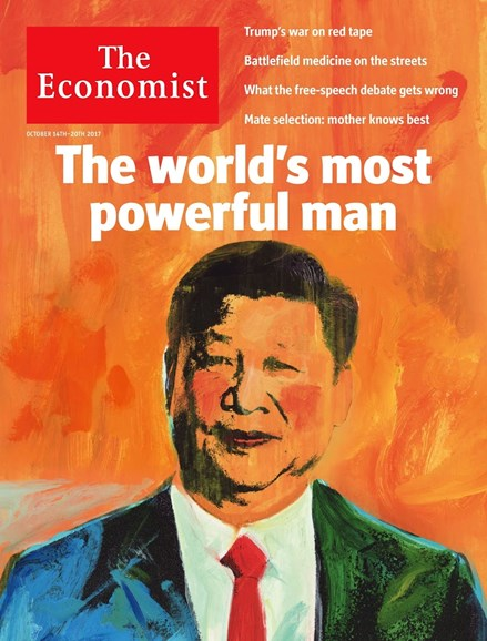 The Economist Cover - 10/14/2017