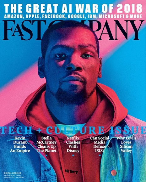 Fast Company Cover - 11/1/2017
