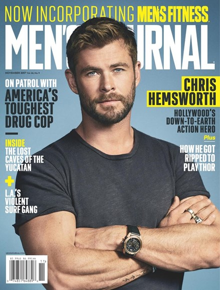 Men's Journal Cover - 11/1/2017