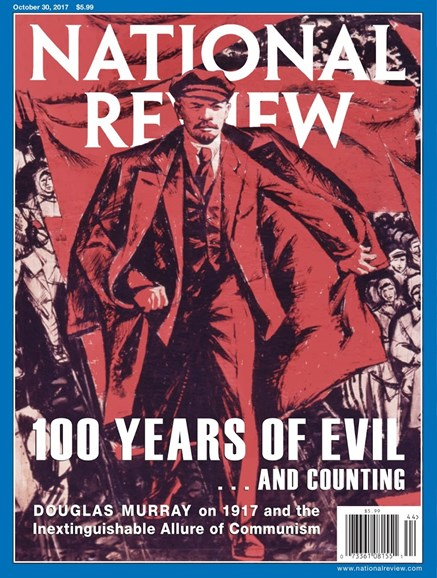 National Review Cover - 10/30/2017