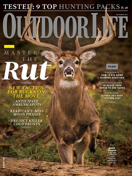 Outdoor Life Cover - 11/1/2017