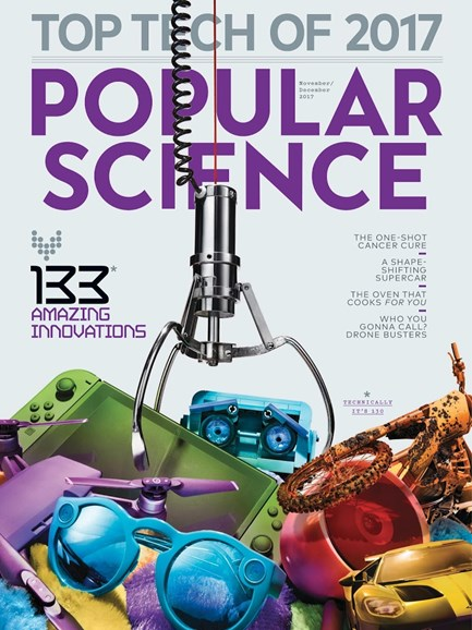 Popular Science Cover - 11/1/2017