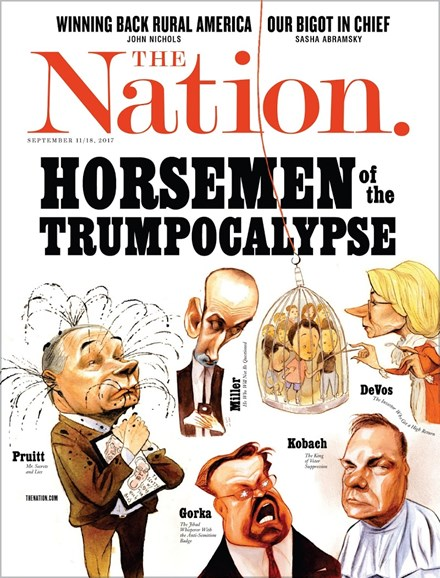 The Nation Cover - 9/11/2017