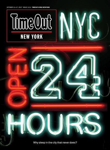 Time Out New York Cover - 10/11/2017