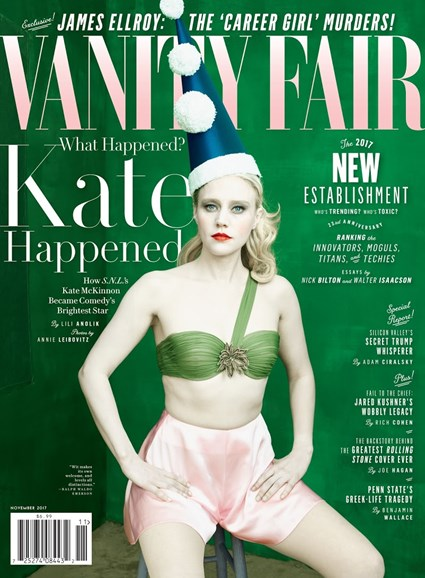 Vanity Fair Cover - 11/1/2017