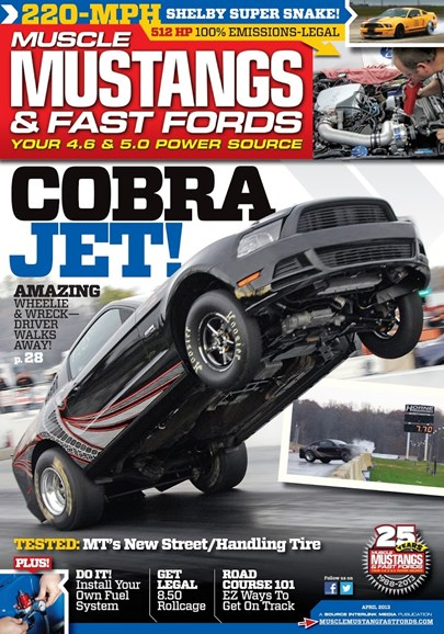 Muscle Mustangs & Fast Fords Cover - 4/1/2013