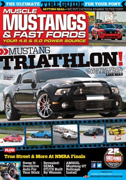 Muscle Mustangs & Fast Fords Cover - 2/1/2013