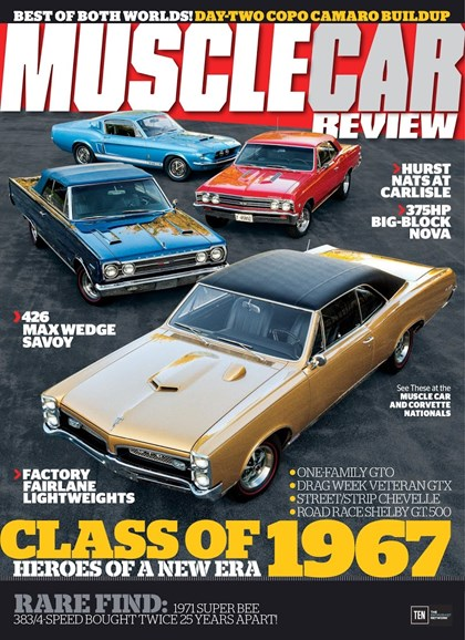 Muscle Car Review Cover - 11/1/2017