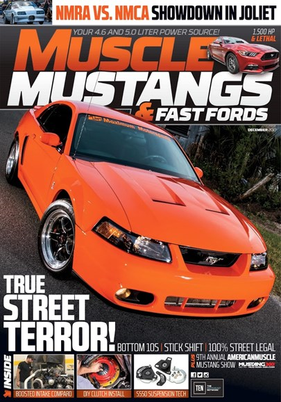 Muscle Mustangs & Fast Fords Cover - 12/1/2017