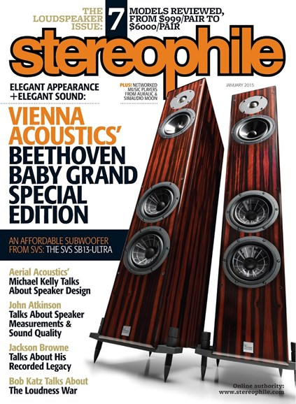 Stereophile Cover - 1/1/2015