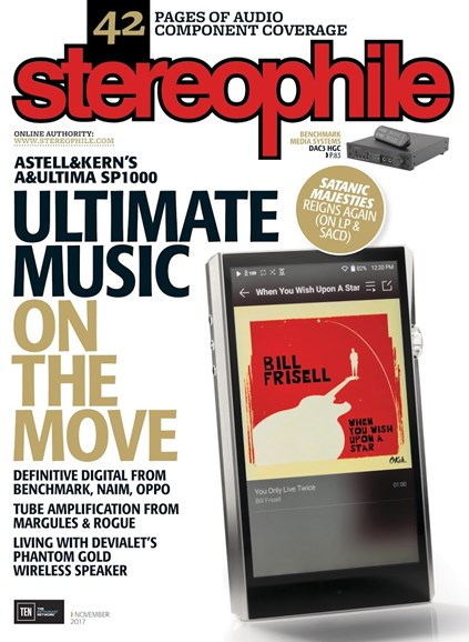 Stereophile Cover - 11/1/2017