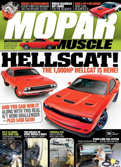 Mopar Muscle Cover - 1/1/2018