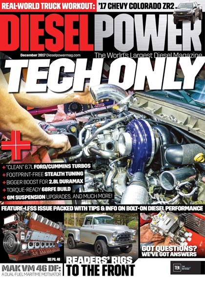 Diesel Power Cover - 12/1/2017