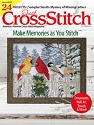 Just Cross Stitch Magazine 12/1/2017