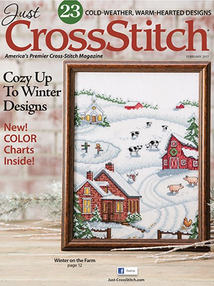 Just CrossStitch Cover - 1/1/2017