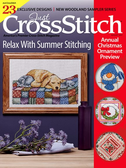 Just CrossStitch Cover - 7/1/2017