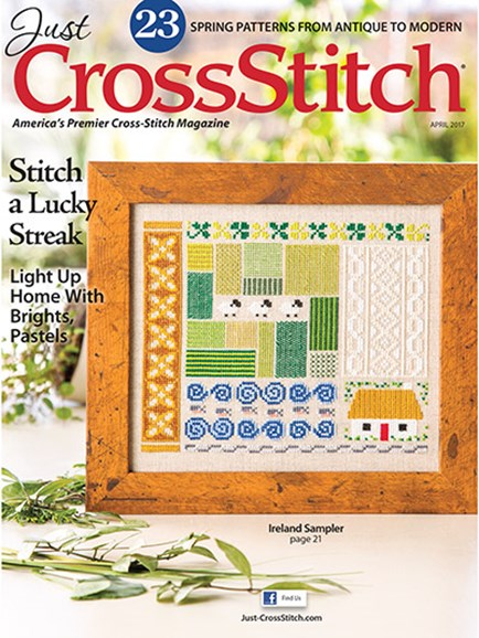 Just CrossStitch Cover - 3/1/2017