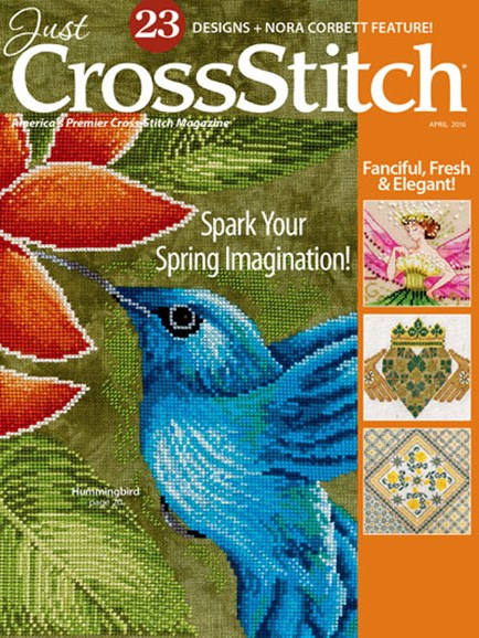 Just CrossStitch Cover - 3/1/2016
