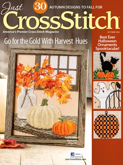 Just CrossStitch Cover - 9/1/2016
