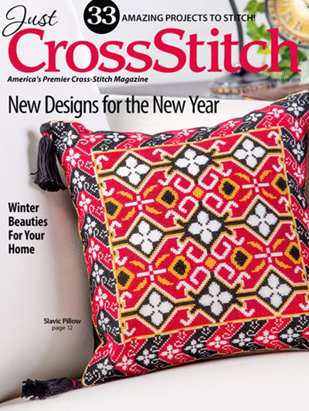 Just CrossStitch Cover - 1/1/2015