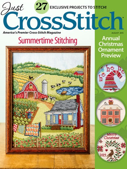 Just CrossStitch Cover - 7/1/2015