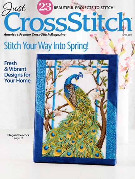 Just CrossStitch Cover - 3/1/2015