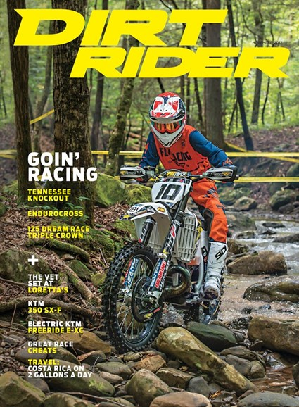 Dirt Rider Cover - 11/1/2017