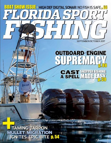 Florida Sport Fishing Cover - 9/1/2017