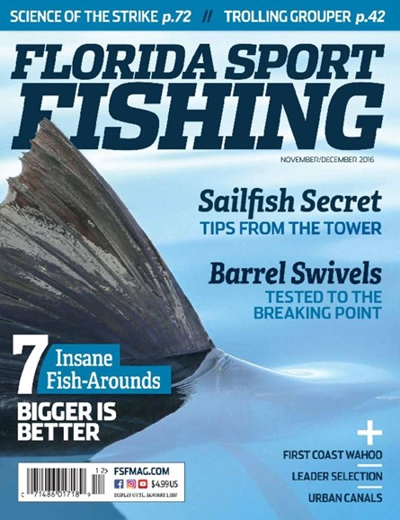 Florida Sport Fishing Cover - 11/1/2016
