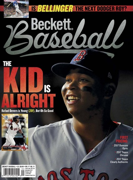 Beckett Baseball Cover - 11/1/2017