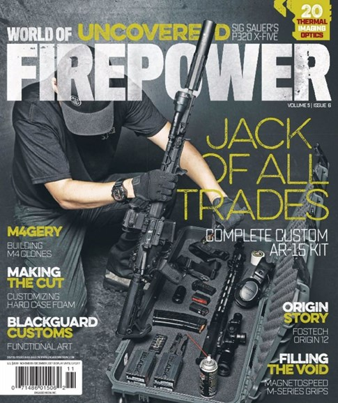 World of Firepower Cover - 11/1/2017