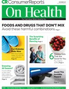 Consumer Reports On Health Magazine 12/1/2017