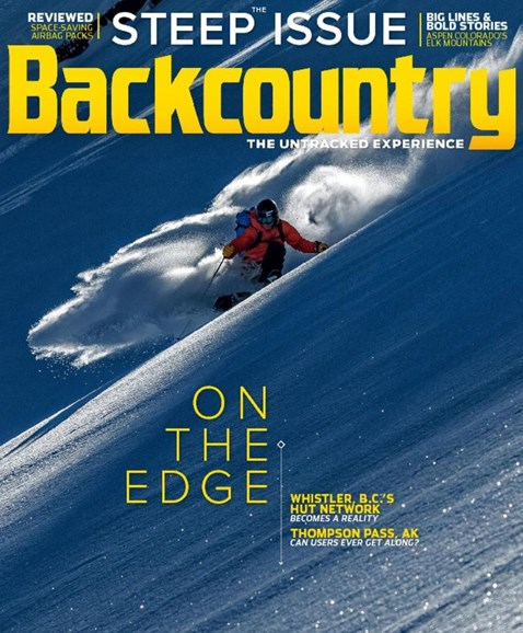 Backcountry Cover - 10/1/2017