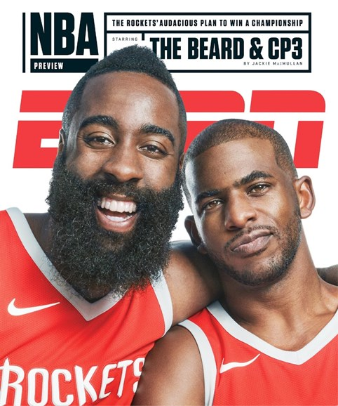 ESPN The Magazine Cover - 10/30/2017