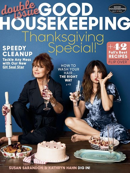 Good Housekeeping Cover - 11/1/2017