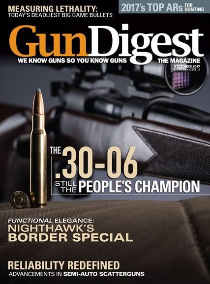 Gun Digest Cover - 10/1/2017