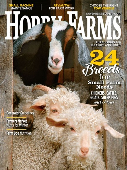 Hobby Farms Cover - 11/1/2017