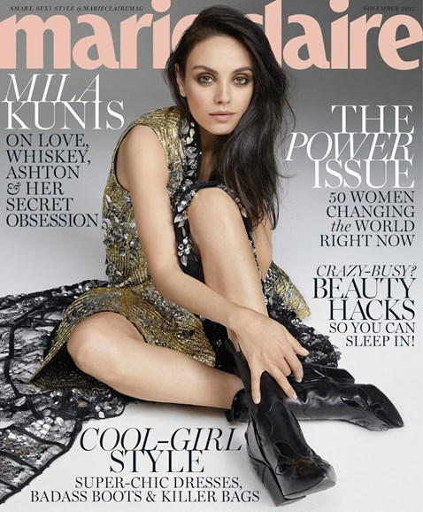 Marie Claire Cover - 11/1/2017