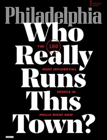 Philadelphia Magazine Cover - 11/1/2017