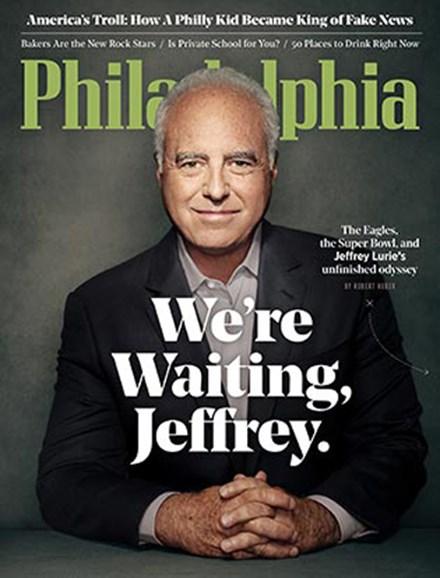 Philadelphia Magazine Cover - 10/1/2017