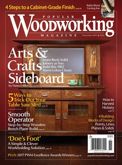 Popular Woodworking Cover - 11/1/2017