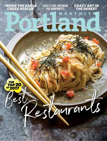 Portland Monthly Cover - 11/1/2017